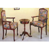 Cherry Tea Table w/ Arm Chairs 1656 (WD)