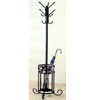 Sandy Black Coat Rack And Umbrella Stand 2018 (CO)