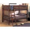 Bunk Bed Walnut 2300 (A)