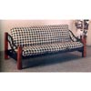 Metal Futon Frame With 3 In. Wood Posts 2381 (CO)