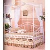 White Daybed With Porcelain Knobs 2616 (CO)