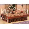Ivory Fan High Back Daybed With Filagree Knobs 2624 (CO)