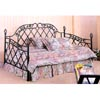 Green Hammer Tone Finish Lattice Daybed 2641 (CO)