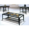 Slate/Glass Occasional Table Set 2933/1 (WD)