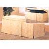 Floral Pattern Storage Bench 300065 (CO)