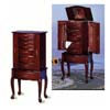 Deluxe Queen Anne Jewelry Armoire 3012 (CO)