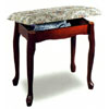 Cherry Finish Vanity Bench 3132 (COFS15)