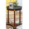 Green Marble Top Stand With Cherry Finish Base 3313 (CO)