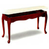 Queen Anne Style Piano Bench With Hideaway Seat 3343 (CO)