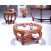 Round Glass Top Coffee Table 3561 (CO)