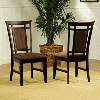 Allspice Espresso Dining Side Chair 358-434(PW)