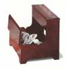 Step Stool In Cherry Finish 3910 (CO)
