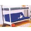 Twin/Full  Straight Metal Bunk Bed 4009 (ML)