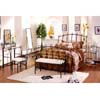 Allure Casual Metal Bedrooom Set 4050F&Q (ML)