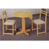 3-Pc Set Natural Finish Table And Chairs 4137-25 (CO)