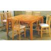 Counter Height Natural Finish Dining Set 4162/4262 (PJ)
