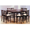 9-Piece Cappuccino Dining Set 4163/4263 (PJ)