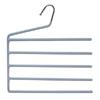 5 Tier Velvet Foam Slack Hanger 4169 (KDY)