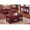 Dark Cherry Finish Coffee Table CM4265C-L (IEM)