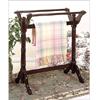 Heirloom Cherry or Oak Towel/Blanket Rack 44_Z(PW)