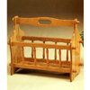 Oak Finish Magazine Rack 4467 (CO)