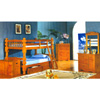Twin/Twin Jumbo Spindle Bunk Bed  4530_ (ML)