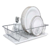 Chrome Dish Rack w. Cup & Tray 4685(KDY)