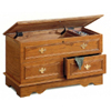 Oak Cedar Chest With Jewelry Tray 4698 (CO)