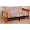 Metal Futon With Wood Arms 4731 (CO)