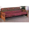 Solid Oak Mission Style Futon Frame 4843 (CO)