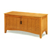 Oak Finish Mission Style Chest 4970 (CO)