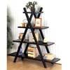 Weathered Black Book Shelf 5050 (CO)
