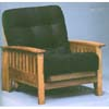 Honey Oak Arm Chair Frame 5096 (WD)
