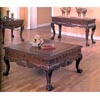 Brown Finish Coffee Table 5099 (CO)