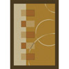 Rug 5336 Gold (HD) Modern Weave Collection