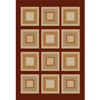 Rug 5459 Red (HD) Modern Weave Collection