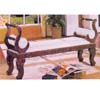 Hand Carved Bench 5616 (ABC)