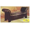Bycast Upholestered Rolled Arm Bench 5631 (A)