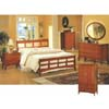 5-Pc Dark Maple Finish Queen Size Bedroom Set 576_ (CO)