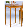 Bar Table In Pine Finish 5905 (CO)