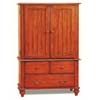 Brandon Collection T.V. Armoire 5989 (CO)