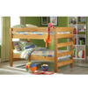 Solid Wood Twin/Twin Bunk Bed 60012-BB(WD)