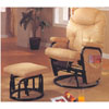 Swivel Glider w/Ottoman 6001_8 (CO)