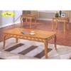 3 Pc Oak Coffee/End Table Set 6169 (A)