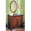 Oak Finish Sink Cabinet 6768 (A)