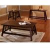 Dark Oak Finish Coffee Table 700108 (CO)