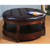 Round Storage Ottoman 700188 (CO)