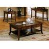 Slate Inlayed Top Coffee Table 700258 (CO)