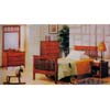 Mission Oak Carriage Bedroom Set 7060 (A)