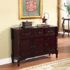 Wood Console Sideboard Table with Drawers and Storage R1021(